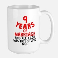 9 Years Of Marriage Mugs