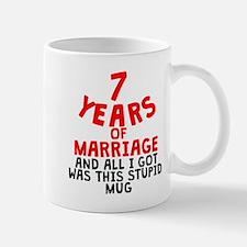7 Years Of Marriage Mugs