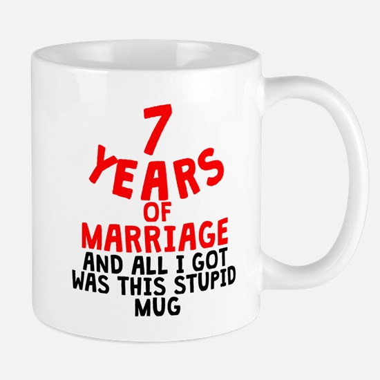 7 Years Of Marriage Mugs