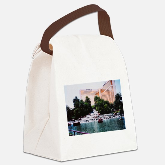 Cute Hotel Canvas Lunch Bag