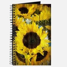 western country yellow sunflower Journal