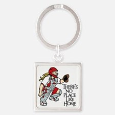 HOME Square Keychain
