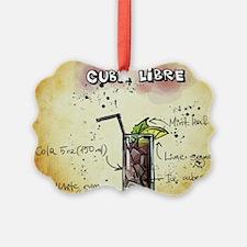 Cuba Libre Ornament