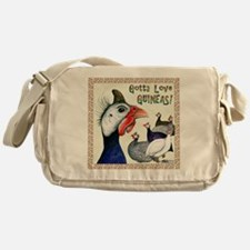 Gotta Love Guineas! Messenger Bag