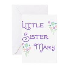 Little Sister Mary Greeting Cards (Pk of 10)