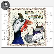 Gotta Love Guineas! Puzzle