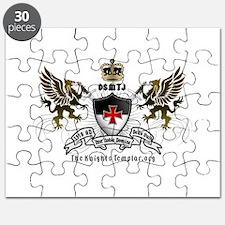 OSMTJ Logo on White Background Puzzle