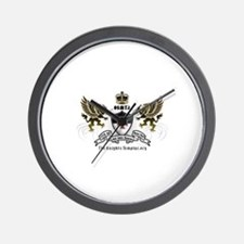OSMTJ Logo on White Background Wall Clock