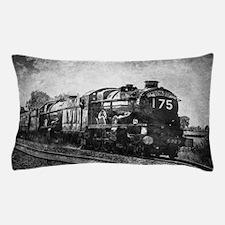 rustic vintage steam train Pillow Case