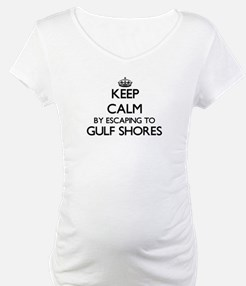 Keep calm by escaping to Gulf Sh Shirt