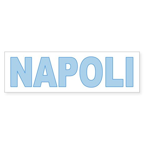 NAPLES Bumper Sticker