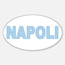 NAPLES Oval Bumper Stickers