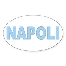 NAPLES Oval Decal
