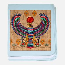 Harvest Moons Egyptian Hawk baby blanket