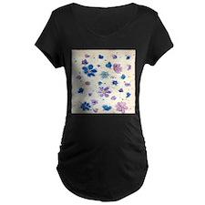 Daisies & Butterflies Maternity T-Shirt