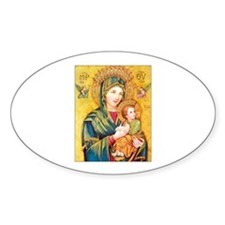 Our Mother of Perpetual Help - Virgin Mary Decal