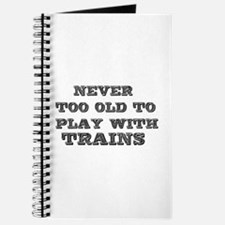 play with trains Journal
