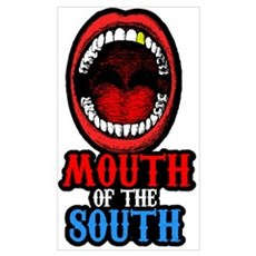 Mouth of the South Poster