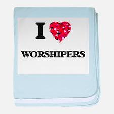 I love Worshipers baby blanket