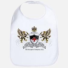OSMTJ Templar Logo White Bib