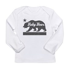 California Bear Family (BABY Bear) Long Sleeve T-S