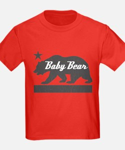 California Bear Family (BABY Bear) T-Shirt