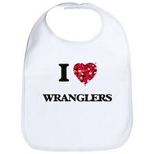 I love Wranglers Bib