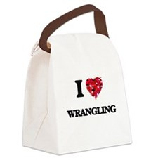 I love Wrangling Canvas Lunch Bag