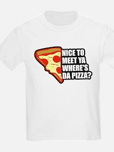 Where's Da Pizza T-Shirt