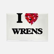 I love Wrens Magnets