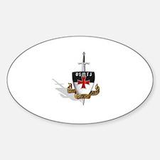 Knights Templar Logo Decal