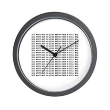 Cute Horror Wall Clock