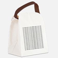 Cute Horror Canvas Lunch Bag