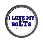 Love my boLTs Wall Clock