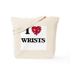 I love Wrists Tote Bag