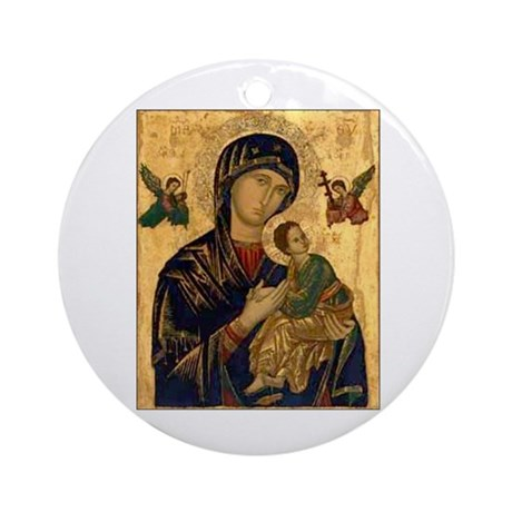 Our Mother of Perpetual Help Ornament (Round)