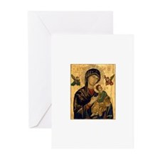 Our Mother of Perpetual Help Greeting Cards (Pk o