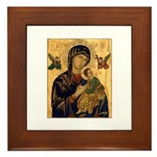 Our Mother of Perpetual Help Framed Tile