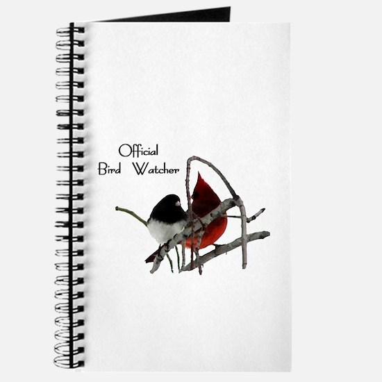 Official Bird Watcher Journal