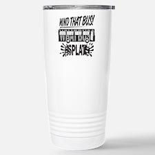 Splat (Black) Travel Mug