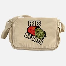 Fries Before Guys Messenger Bag