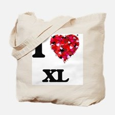 I love Xl Tote Bag