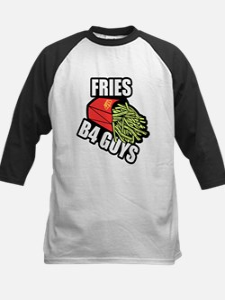 Fries Before Guys Baseball Jersey