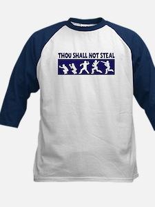 SHALL NOT STEAL Kids Baseball Jersey