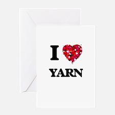 I love Yarn Greeting Cards