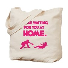 Waiting at Home Tote Bag