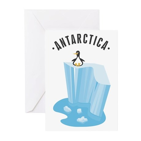 Antarctica Greeting Cards (Pk of 20)