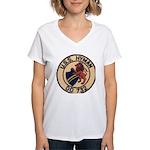 USS HYMAN Women's V-Neck T-Shirt