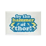 By the Hammer of Thor Rectangle Magnet