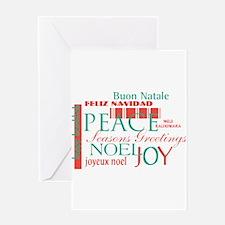Christmas Around The World Greeting Card